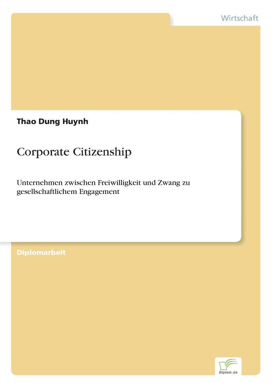 Thao Dung Huynh Corporate Citizenship недорого