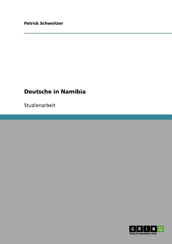 Patrick Schweitzer Deutsche in Namibia im land der orangenbluten