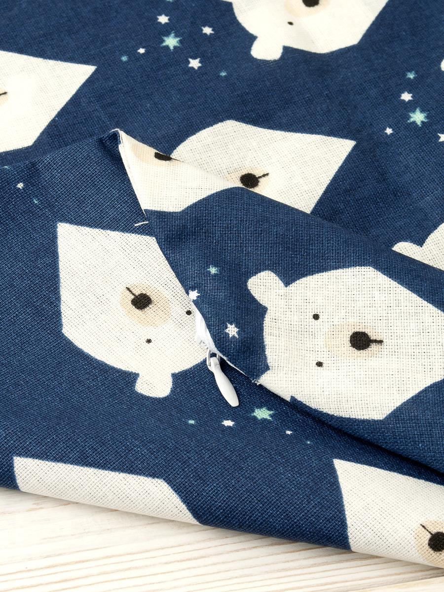 Чехол для подушки для беременных AmaroBaby Белые медведи, AMARO-5001-BM, серый, 170 х 25 см Внешний чехол на потайной молнии...