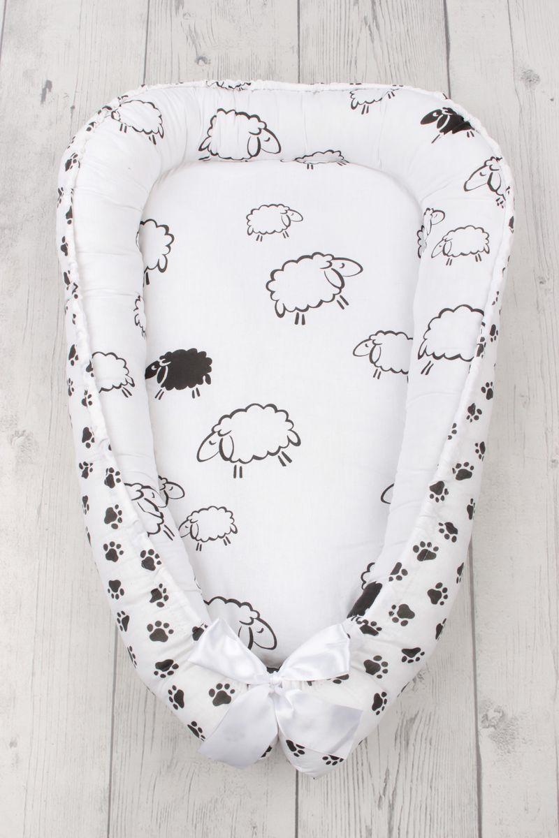 позиционеры для сна Позиционер для сна AmaroBaby Little Baby, белый, 50 х 70 см