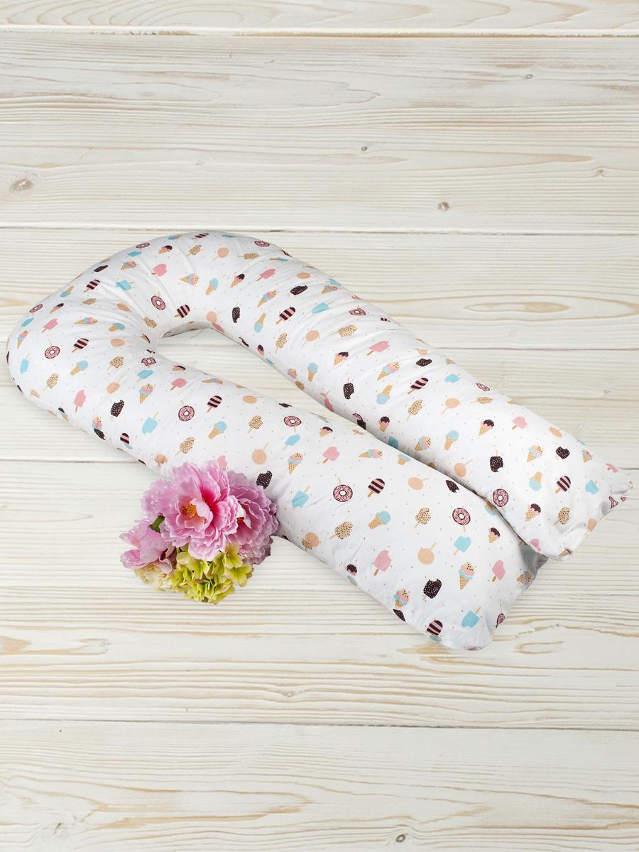 Чехол для подушки беременных AmaroBaby Эскимо, AMARO-50U-E, мультиколор, 340 х 35 см
