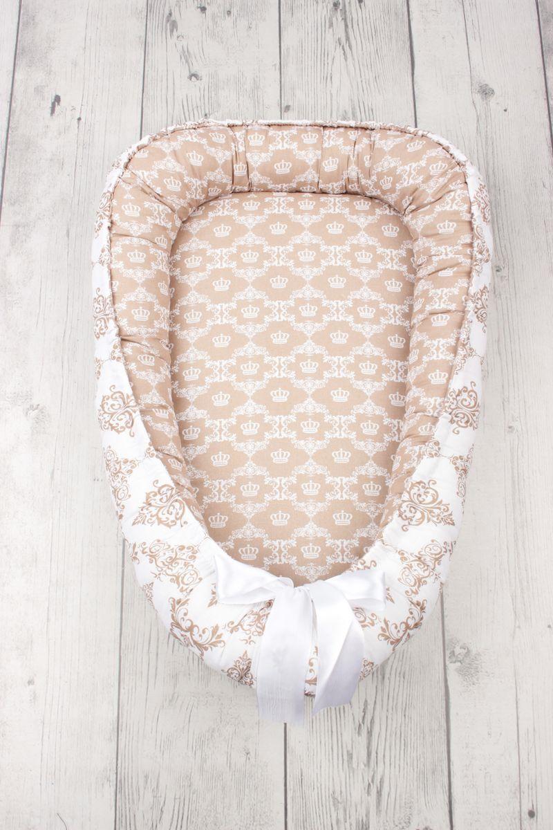 позиционеры для сна Позиционер для сна AmaroBaby Little Baby, бежевый, 50 х 70 см