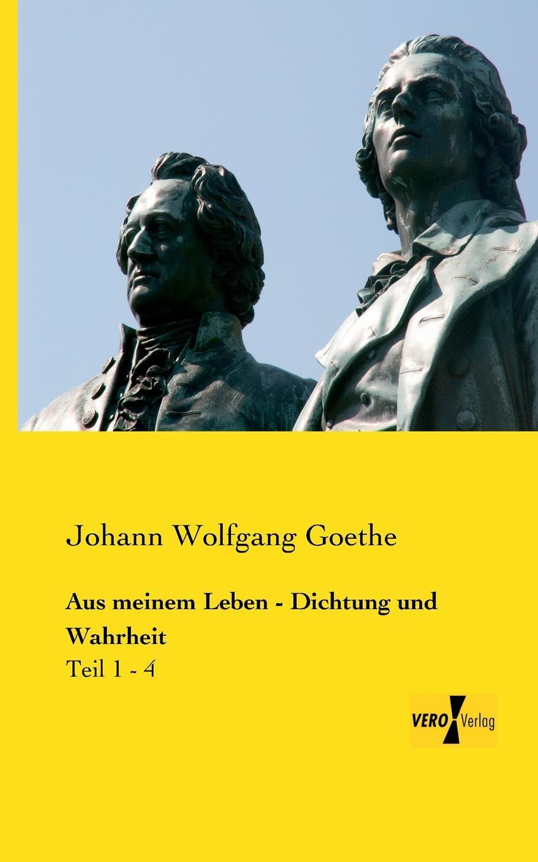 Johann Wolfgang Goethe Aus meinem Leben - Dichtung und Wahrheit klaus ludwig hohn darstellung und deutung der bildenden kunst der antike in den romischen elegien von johann wolfgang von goethe