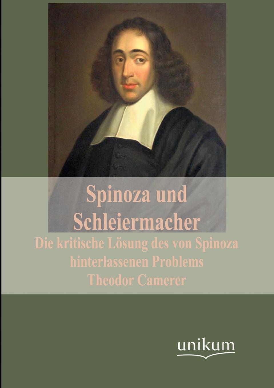 Theodor Camerer Spinoza und Schleiermacher ludwig mauthner die lehre von den augenmuskellahmungen classic reprint