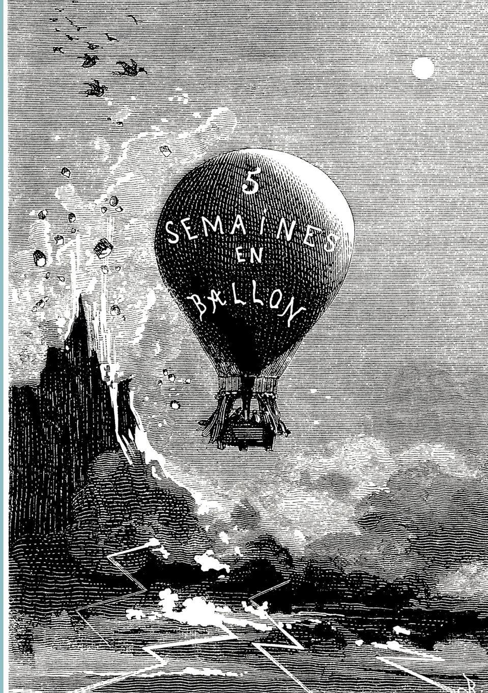 Jules Verne Funf Wochen im Ballon цена