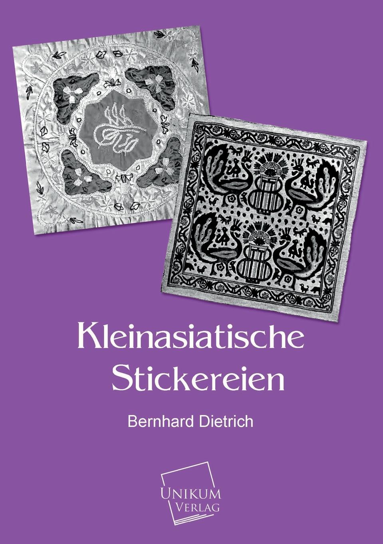 Bernhard Dietrich Kleinasiatische Stickereien karl bernhard stark nach dem griechischen orient