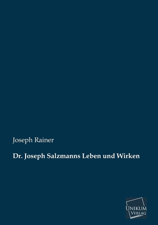 Joseph Rainer Dr. Joseph Salzmanns Leben Und Wirken rainer weinberger marketing in der dienstleistungs und wissensgesellschaft