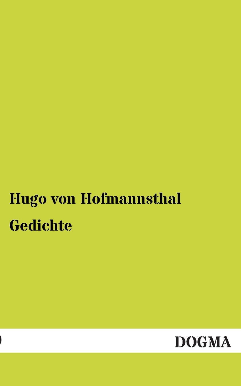 Hugo Von Hofmannsthal Gedichte цены