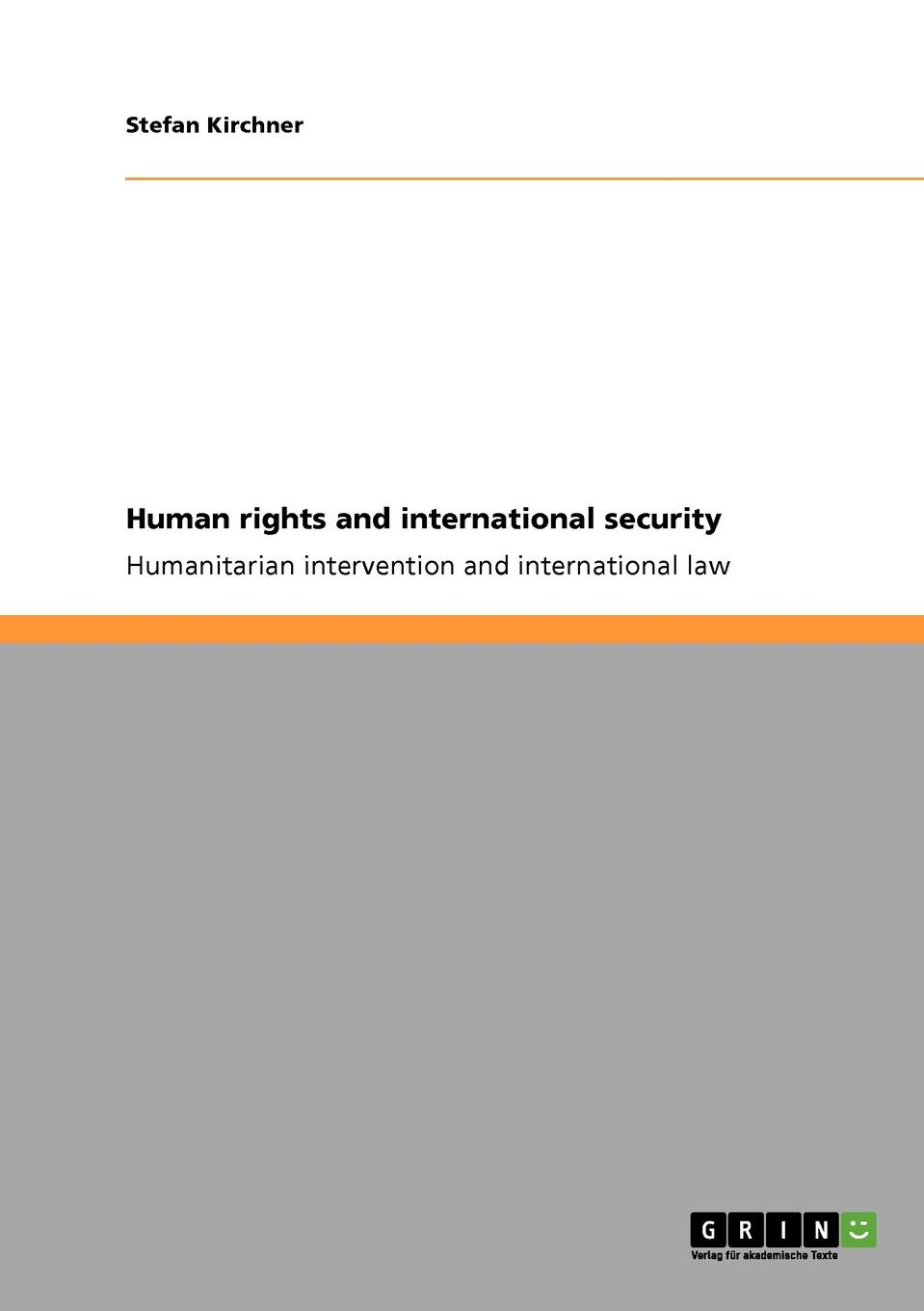 цены на Stefan Kirchner Human rights and international security  в интернет-магазинах