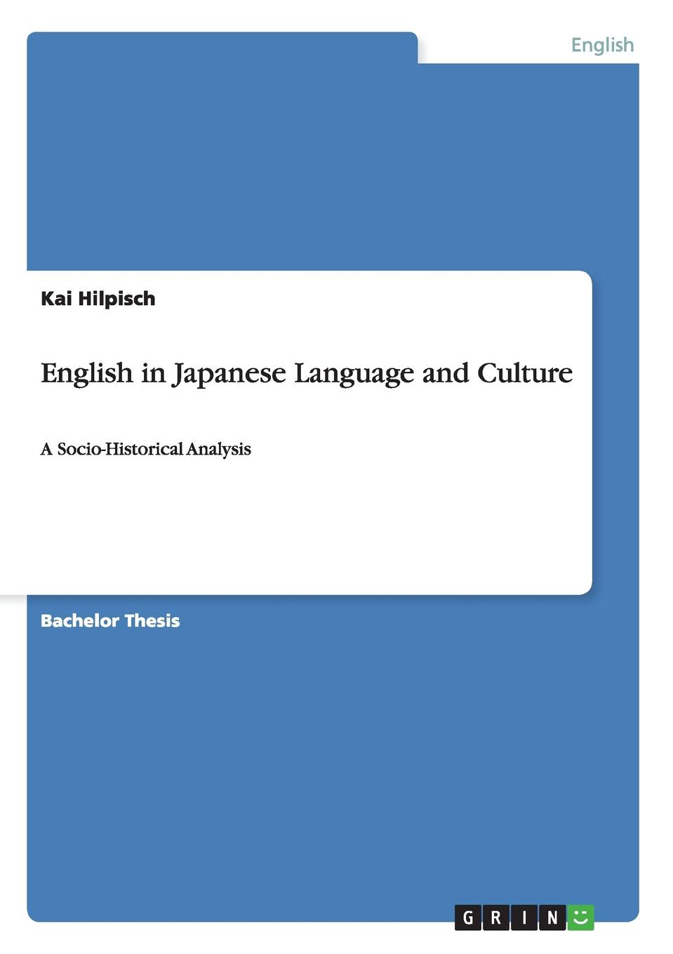 Kai Hilpisch English in Japanese Language and Culture