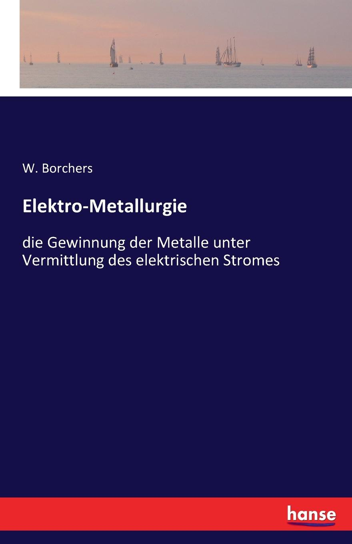 W. Borchers Elektro-Metallurgie w borchers entwicklung bau und betrieb der elektrischen ofen