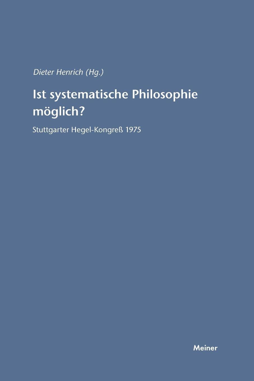 Ist systematische Philosophie moglich. johannes thiele die systematische stellung der solenogastren und die phylogenie der mollusken