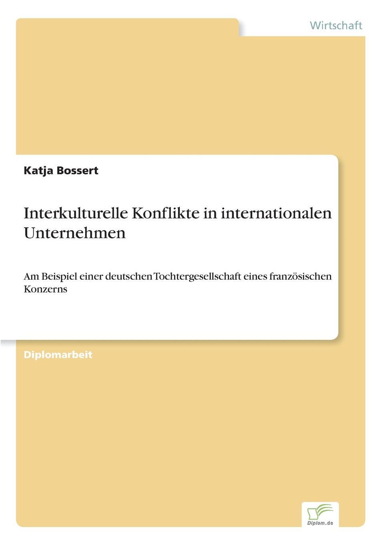 Interkulturelle Konflikte in internationalen Unternehmen Inhaltsangabe:Einleitung:Seit den sechziger Jahren wird den...
