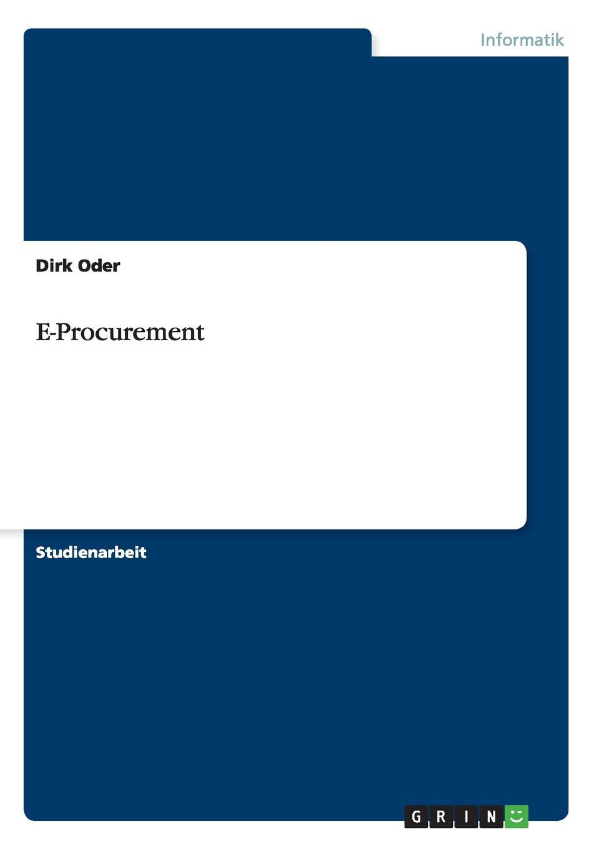 Dirk Oder E-Procurement patrick p stoll e procurement