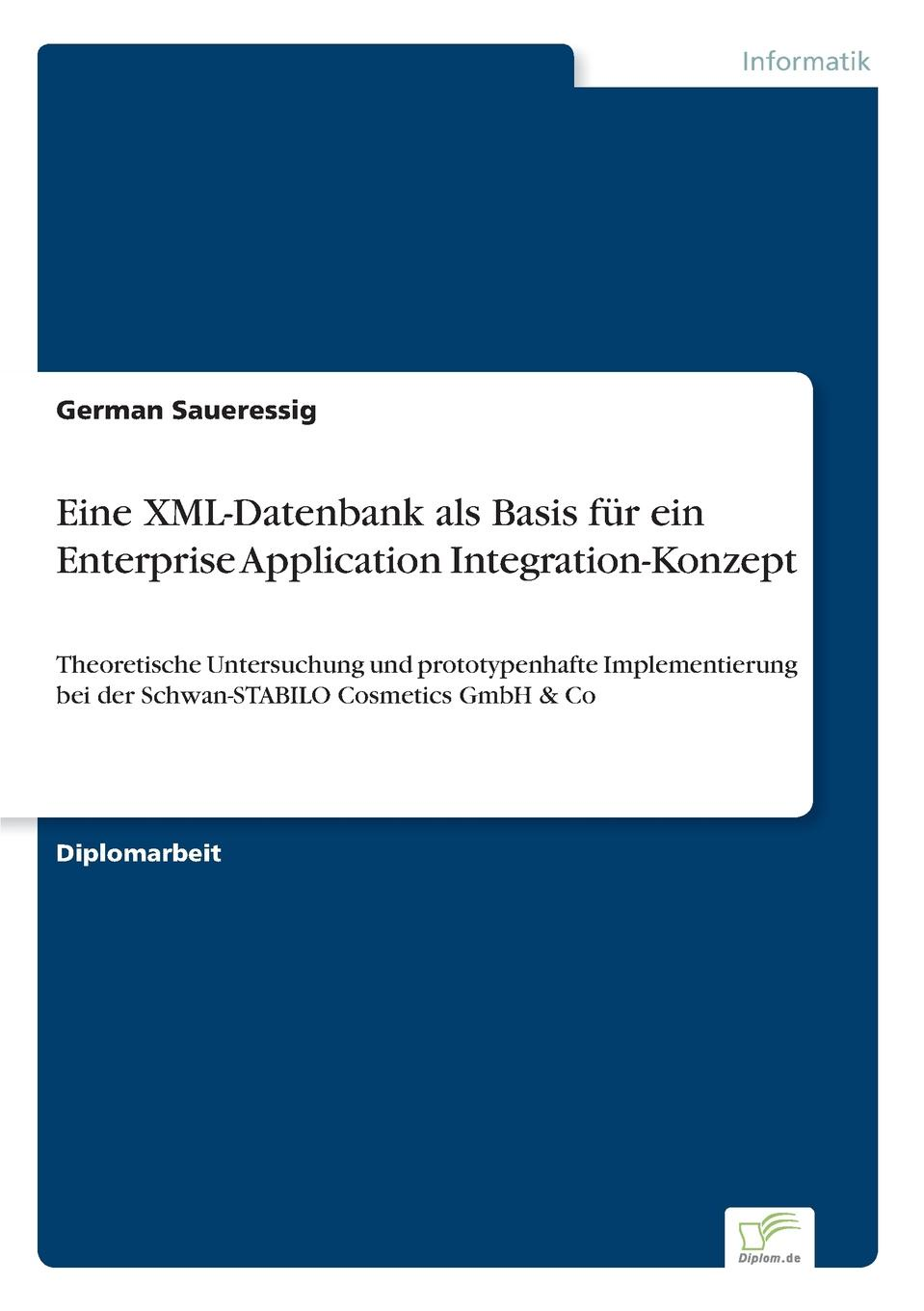 German Saueressig Eine XML-Datenbank als Basis fur ein Enterprise Application Integration-Konzept sitemap 130 xml