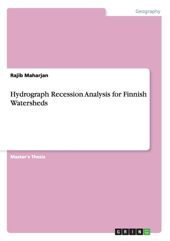 Rajib Maharjan Hydrograph Recession Analysis for Finnish Watersheds