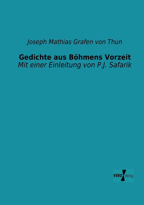 Joseph Mathias Grafen Von Thun Gedichte Aus Bohmens Vorzeit v naumann quos ego fehdebriefe wider den grafen paul hoensbroech