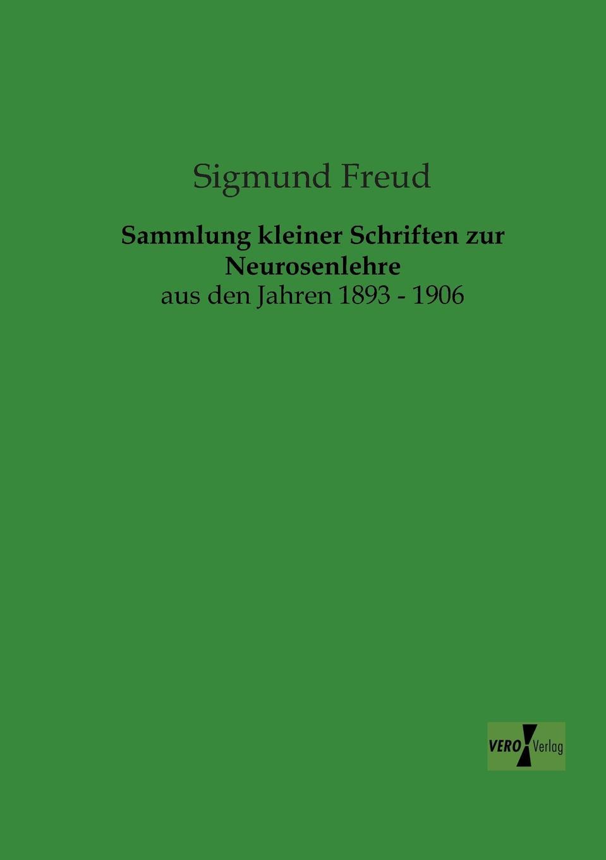 Sigmund Freud Sammlung Kleiner Schriften Zur Neurosenlehre недорого