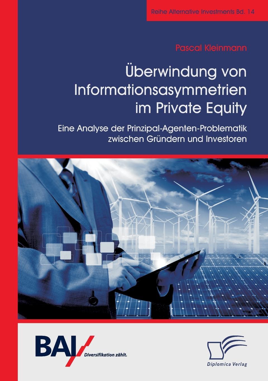 Pascal Kleinmann Uberwindung von Informationsasymmetrien im Private Equity. Eine Analyse der Prinzipal-Agenten-Problematik zwischen Grundern und Investoren capital inicial recife