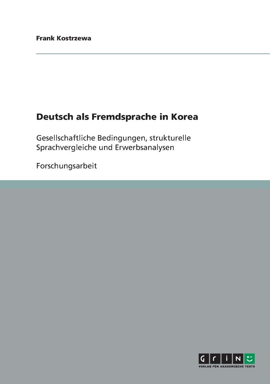 Frank Kostrzewa Deutsch als Fremdsprache in Korea studio d b1 deutsch als fremdsprache sprachtraining