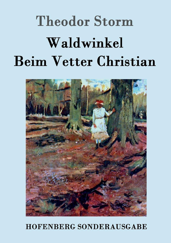 Theodor Storm Waldwinkel / Beim Vetter Christian gertrud storm theodor storm
