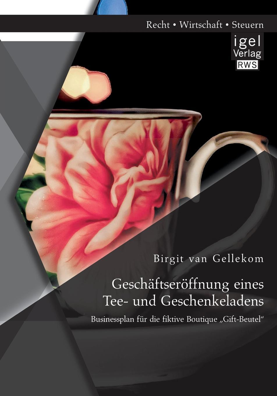 Birgit Van Gellekom Geschaftseroffnung Eines Tee- Und Geschenkeladens. Businessplan Fur Die Fiktive Boutique Gift-Beutel slogan print tee