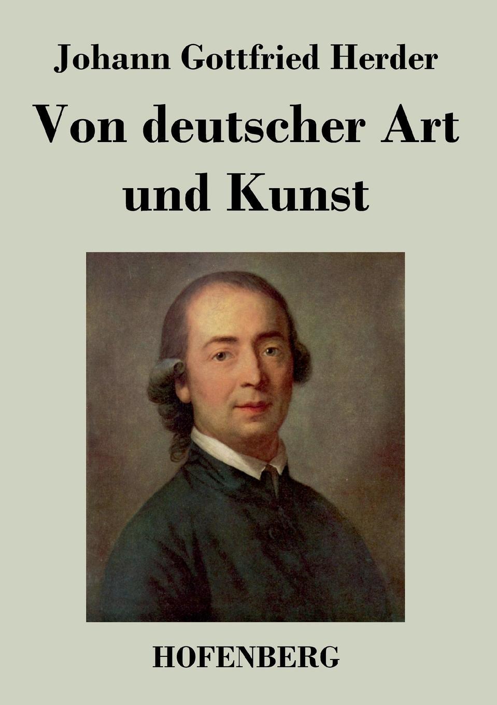 Johann Gottfried Herder Von deutscher Art und Kunst c graupner wo gott der herr nicht bei uns halt gwv 1137 27