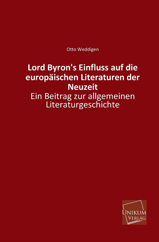 Otto Weddigen Lord Byron.s Einfluss Auf Die Europaischen Literaturen Der Neuzeit hermann kirchhoff otto weddigen und seine waffe