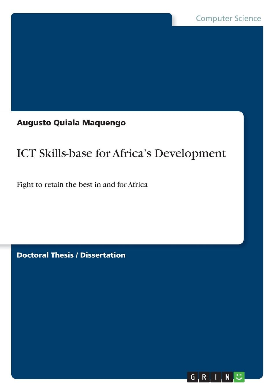 Augusto Quiala Maquengo ICT Skills-base for Africa.s Development недорго, оригинальная цена