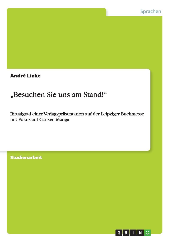André Linke .Besuchen Sie uns am Stand.
