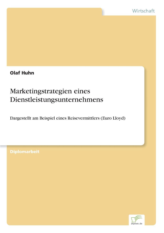 Marketingstrategien eines Dienstleistungsunternehmens Inhaltsangabe:Einleitung:Der Dienstleistungssektor in...