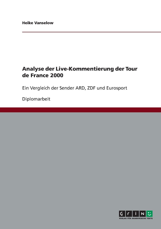 Heike Vanselow Analyse der Live-Kommentierung der Tour de France 2000 hermann von staff der befreiungs krieg der katalonier in den jahren 1808 bis 1814 t 2