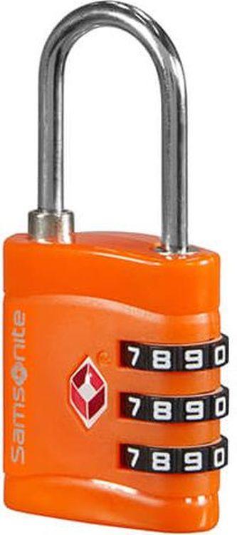 Замок кодовый Sамsonite, CO1*96047, оранжевый