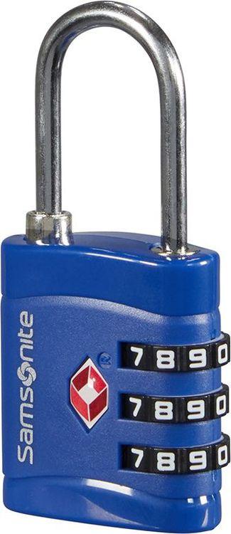 Замок кодовый Sамsonite, CO1*11038, синий
