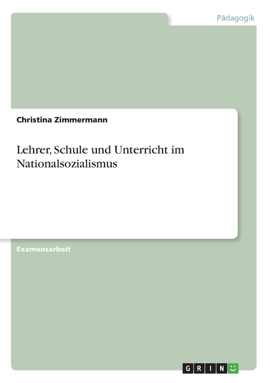 Christina Zimmermann Lehrer, Schule und Unterricht im Nationalsozialismus andreas kern die genese des judensterns im nationalsozialismus