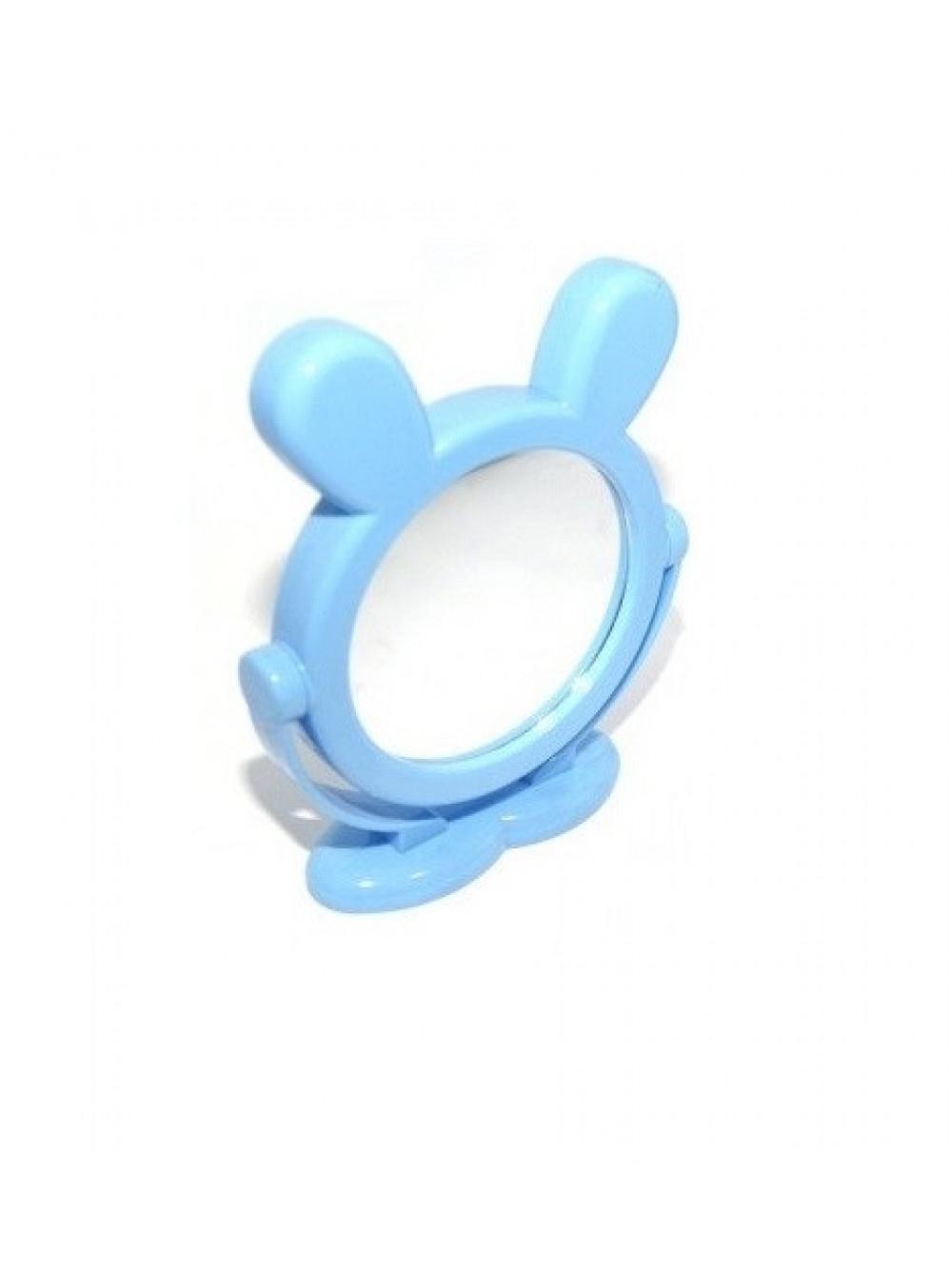 Зеркало настольное Migliores детское, голубой зеркало настольное migliores настольное зеркало темно розовый