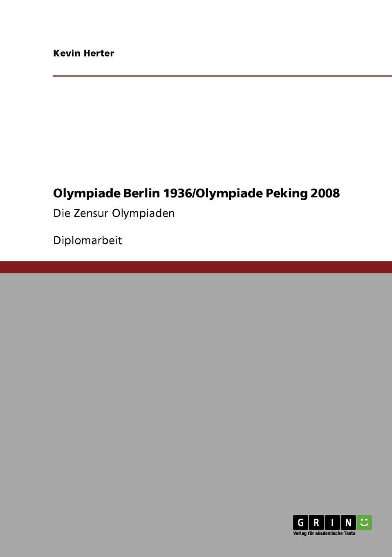 Mirco Vaser Olympiade Berlin 1936. Olympiade Peking 2008 midnight in peking