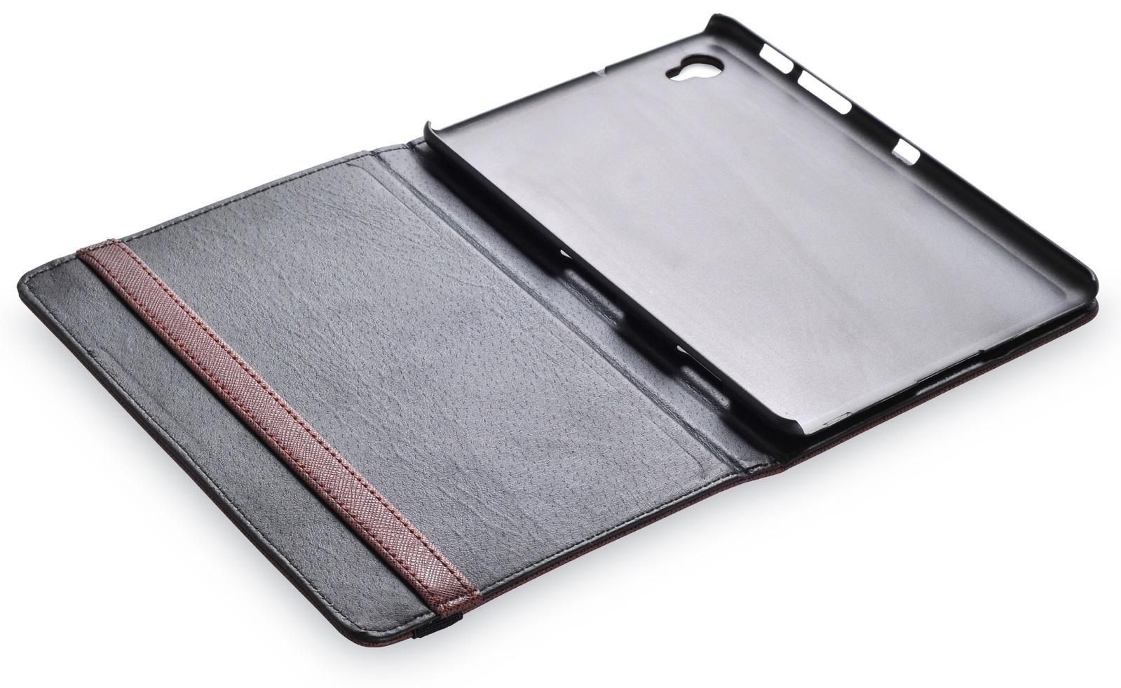 "Чехол для планшета iNeez книжка эко кожа для Samsung Galaxy Tab 7.7"", коричневый"