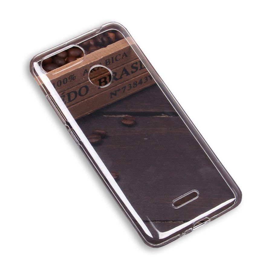 Чехол для сотового телефона cиликоновый для Xiaomi Redmi Note 6 Pro, прозрачный силиконовый чехол pero для xiaomi redmi note 5 pro прозрачный
