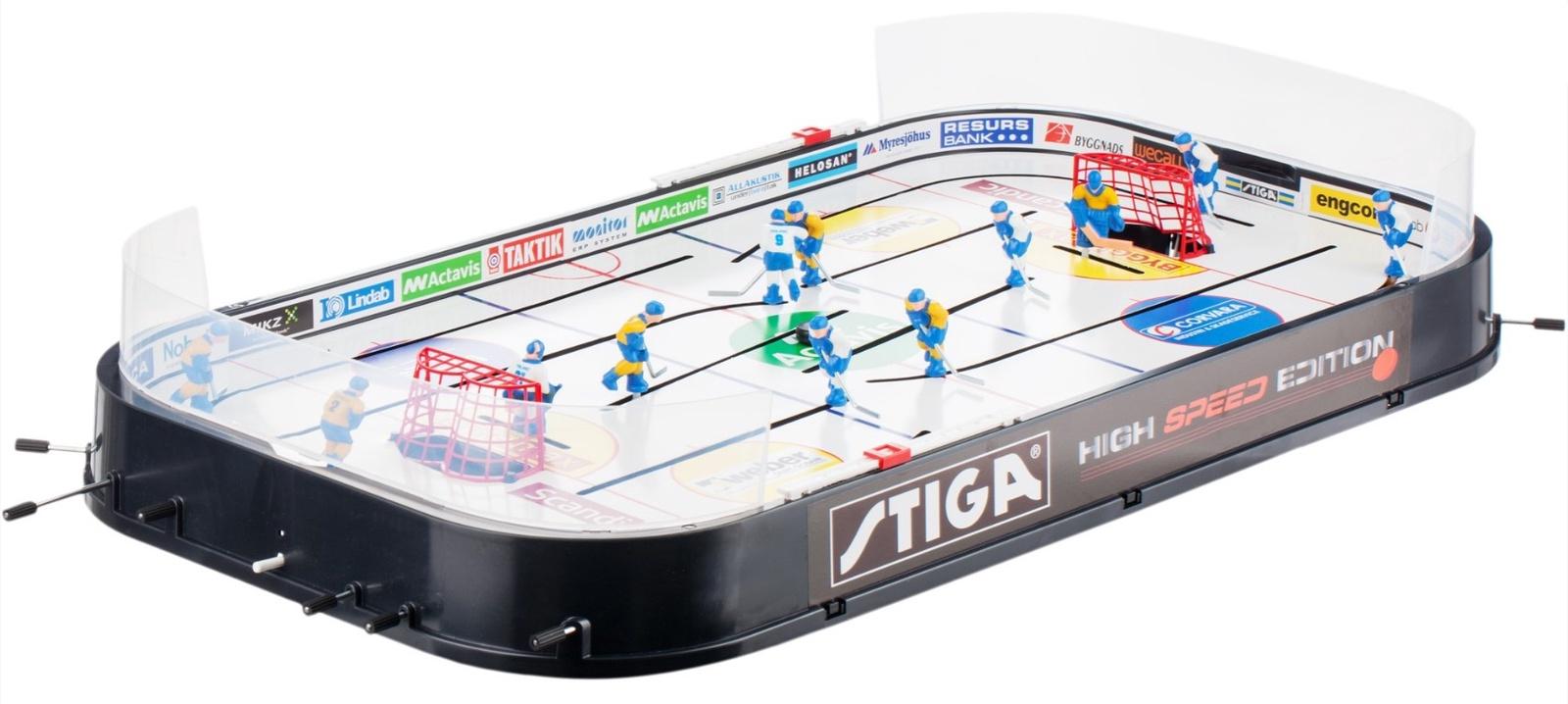 Спортивная настольная игра Stiga Хоккей High Speed - Стига Высокая Скорость настольная игра abtoys футбол s 00092 wa c8044 50 5 х 29 х 9 см