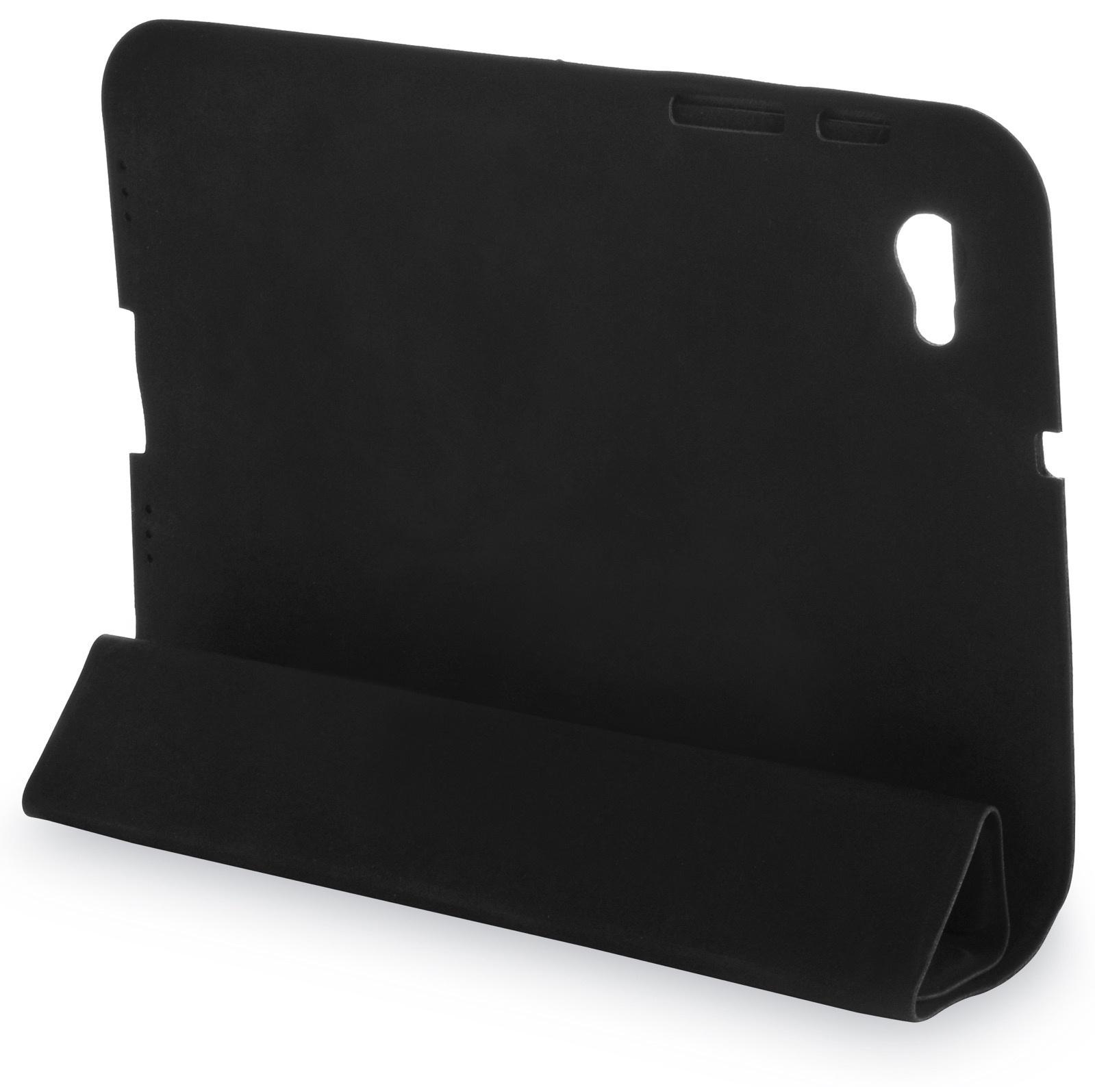 """Чехол для планшета iNeez книжка полиуретан для Samsung Galaxy Tab 7.7"""", черный"""