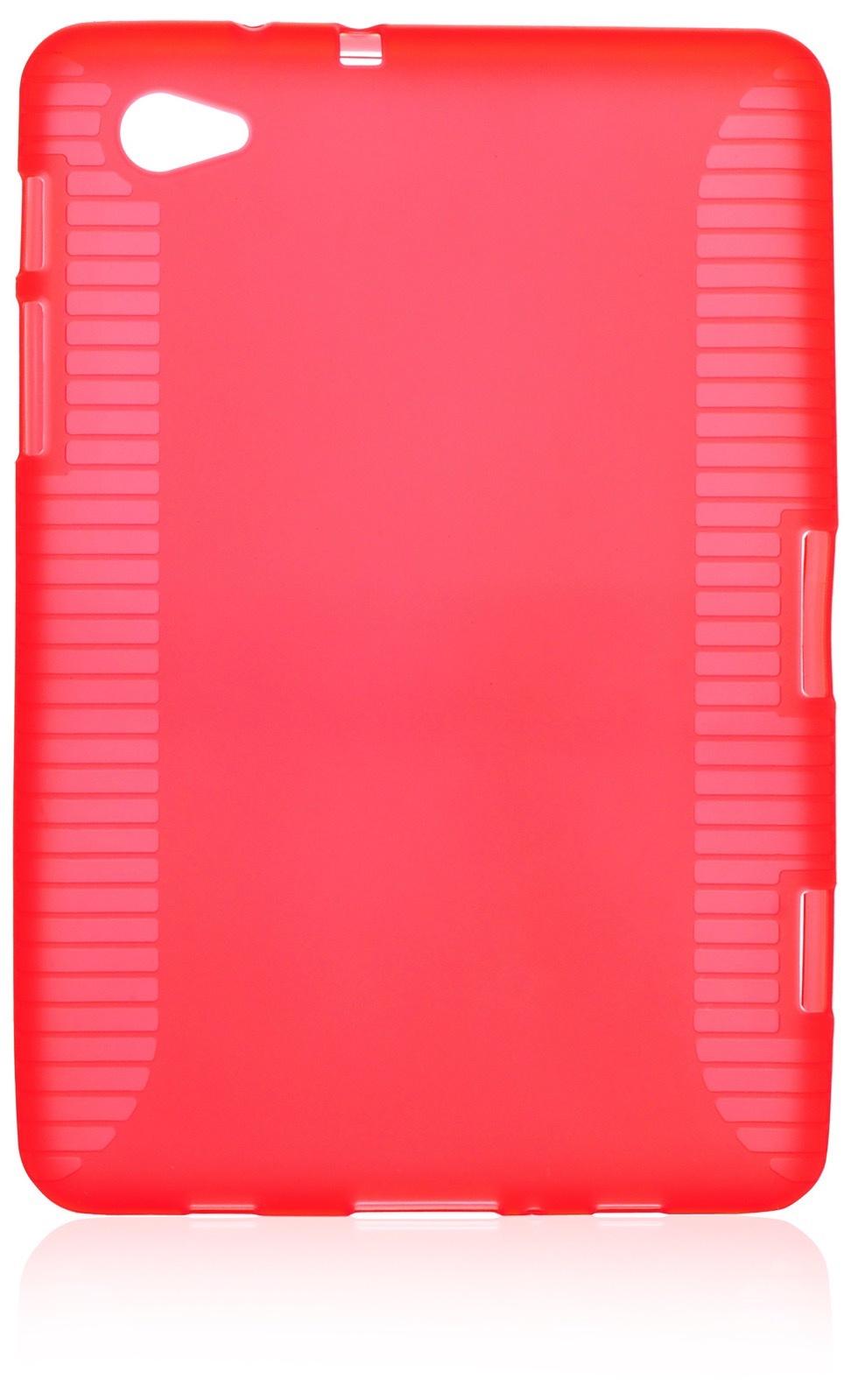 """Чехол для планшета iNeez накладка силикон 340102 для Samsung Tab 7.7"""", красный"""