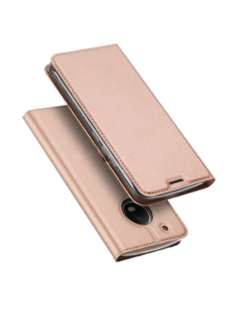 Чехол для сотового телефона DUX DUCIS Motorola Moto G5S Plus, розовый силиконовый чехол задней крышки корпуса для телефона motorola moto g5s