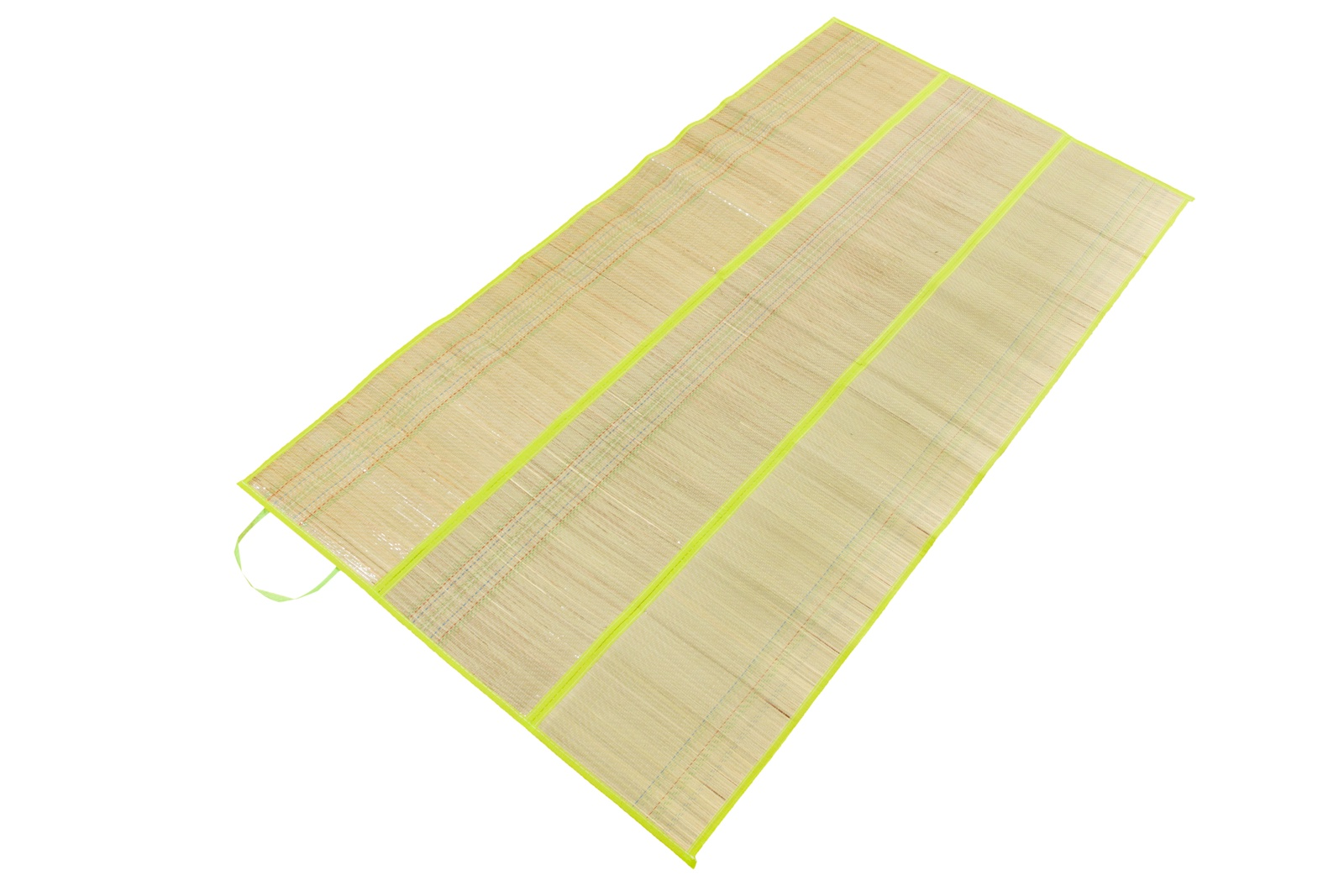 Коврик туристический 12960р,90х170 см. Пляжный коврик - сумочка соломка с фольгой, бежевый, серебристый цена