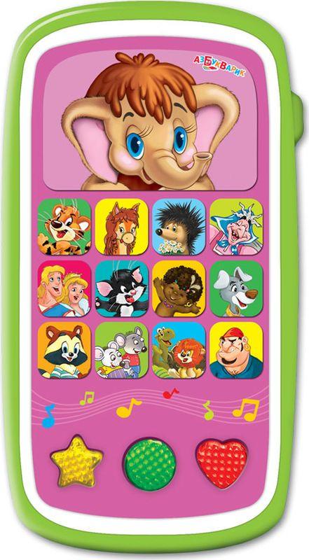 Азбукварик Электронная игрушка Мультиплеер Друзья мультяшки с огоньками электронная развивающая игрушка азбукварик мультиплеер ладушки 80291