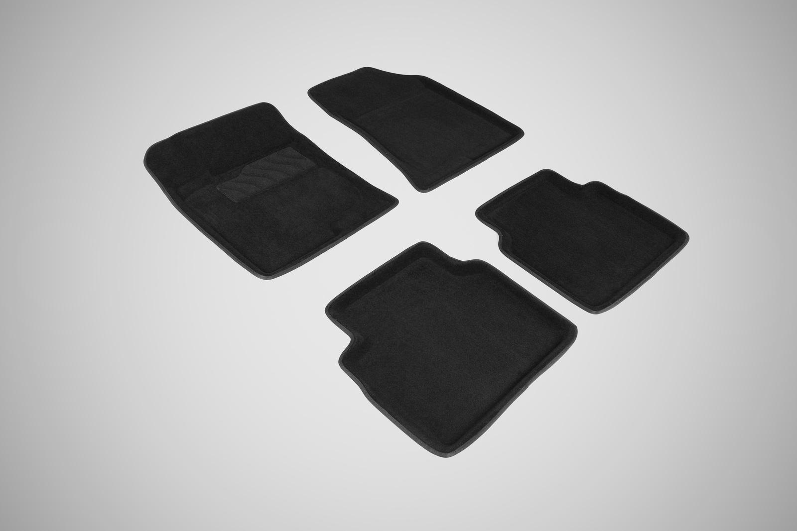 Коврики в салон автомобиля Seintex 3D коврики для Hyundai Sonata NF 2004-2010 недорго, оригинальная цена