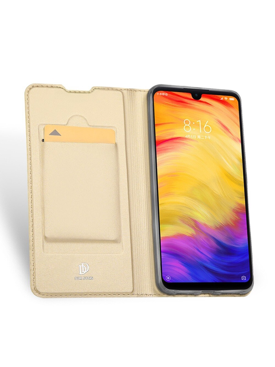цена на Чехол для сотового телефона DUX DUCIS Xiaomi Redmi Note 7/Note 7 PRO, золотой