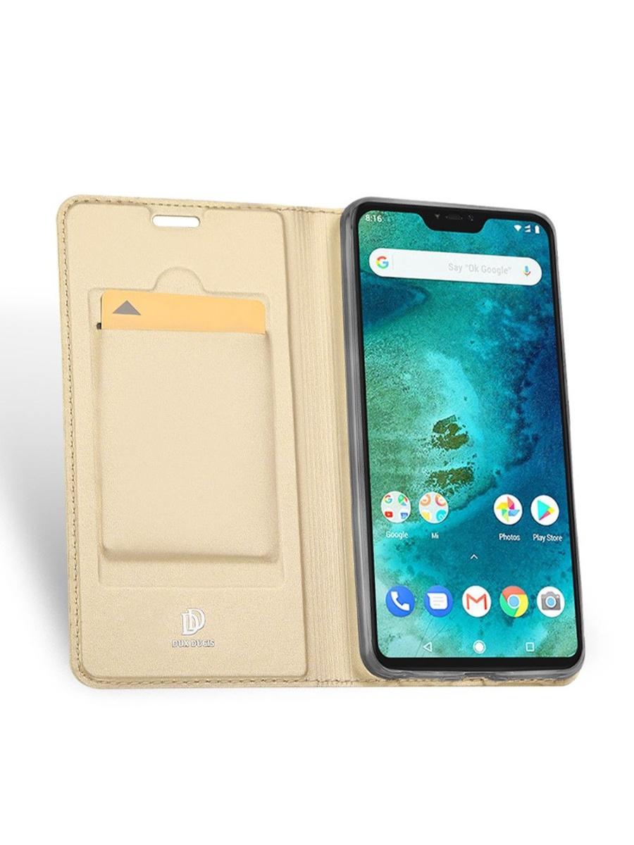 цена на Чехол для сотового телефона DUX DUCIS Xiaomi Redmi Note 6 PRO, золотой