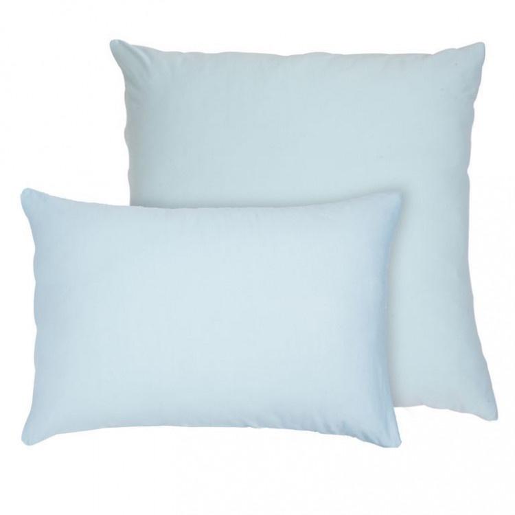 Наволочка Селтекс Трикотажные наволочки на молнии 70х70, Бледно-голубой
