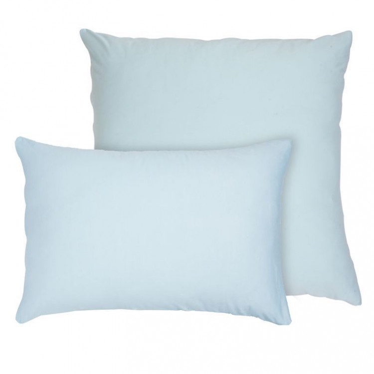 Наволочка Селтекс Трикотажные наволочки на молнии 50х70, Бледно-голубой (2шт) цена